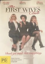 The First Wives Club Goldie Hawn Bette Midler Diane Keaton Region 4 DVD VGC