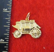14KT GOLD EP WESTERN STAGECOACH-A-19