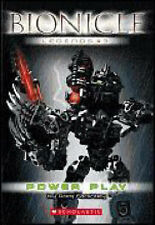BOOK - BIONICLE  -  LEGENDS # 3  POWER PLAY  EUC