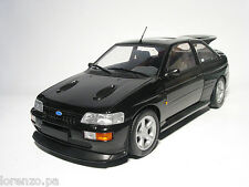 FORD ESCORT RS COSWORTH 1992 NERO METALLIZZATO BLACK 1/18 MINICHAMPS 150089020