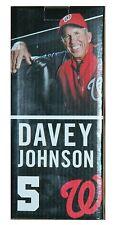2013 Washington Nationals DAVEY JOHNSON Bobblehead SGA ROOKIE BOBBLE HEAD RC NIB