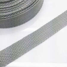 New 5 yards Length 3/4 Inch Width(20mm) Nylon Webbing Strapping light Grey