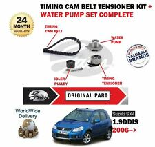 FOR SUZUKI SX4 1.9TD DDIS 4X4 D19AA 2006-  TIMING CAM BELT KIT + WATER PUMP SET