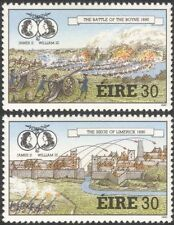 Ireland 1990 Williamite Wars/Battles/Boyne/Limerick/Military/Guns 2v set n21568