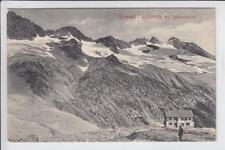 AK Krimml, Richterhütte mit Reichenspitze, 1910