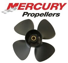 "Mercury Black Max Outboard Propeller 9.9hp BigFoot / 15hp / 20HP 10 x 7"" 4 Blade"