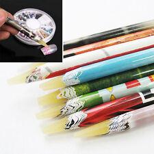 Hot Pick Up Pen Wax Resin Rhinestones Picker Pencil Crafts Nail Art Long SizeID8