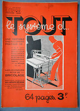► TOUT LE SYSTEME D N°7 - 1935 - T.S.F. INVENTIONS
