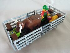 LEGO CATTLE TRUCK FROM SET 60052 GOODS TRAIN