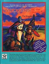 RANGERS OF THE NORTH w/MAP VF! THE KINGDOM OF ARTHEDAIN ME 3000 MERP ICE Tolkien