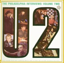 "U2 "" THE PHILADELPHIA INTERVIEW VOLUME TWO "" LP NUOVO VINIL GREEN 1989 RARO"