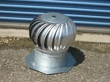New Aluminum Roof Wind Turbine Ventilator Leslie Locke AC- 12