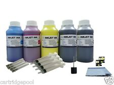 Refill pigment ink kit for Kodak 30 Hero 3.1 4.2 5.1 5x250ml/s with 2 chip