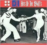 VARIOUS : NO. 1 HITS OF THE 1940'S (CD) sealed