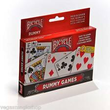 Rummy 2 Deck Set Bicycle Playing Cards Poker Size Card Game USPCC Tangent Back