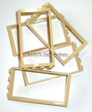 Lego DOOR FRAME 1X4X6, TAN, 60596 Lot of 5, New