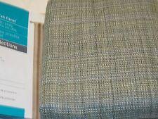 Style Seletions Anders Panel Drape Curtain Spring Green 42 x 84L  tweed look NIP