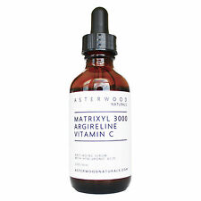 Matrixyl 3000 30% Argireline Vitamin C 20% Serum Hyaluronic Acid Anti-Aging 2oz