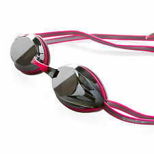Nouveau speedo opale miroir rose competition goggles-neuf adultes cheap racing goggle