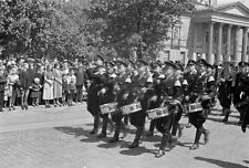 Negativ-1930-Darmstadt-Hessen-Aufmarsch-Standarte 33-uniform-Rhein-Main-Gebiet-6