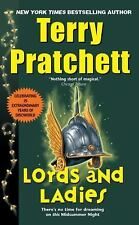 Lords and Ladies-Terry Pratchett-Discworld series #14-DIFFERENT COVER-comb ship