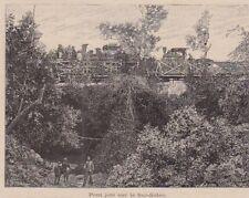 1893  --  INDOCHINE  PONT JETE SUR LE SUI SIDEO    3B448