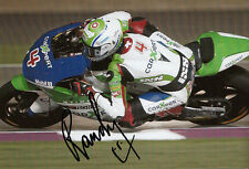 Randy Krummenacher Moto2 Hand Signed Suter Photo 5x7.5 2013 3.