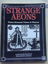 Strange Aeons 1 - Call of Cthulhu RPG Adventures Modules - Chaosium #2353