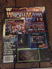 Mr. Wonderful/Paul Orndorff Autographed Wrestlemania Magazine!