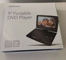 "Insignia 9"" Portable DVD Player  NS-P9DVD15 Black New Other With ORIGINAL BOX"