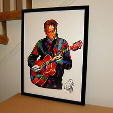 Tommy Emmanuel, Guitar, Musician, Acoustic Guitarist, Music, 18x24 POSTER w/COA