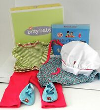 American Girl Bitty Baby Twins Chef outfit new in box
