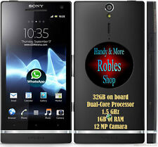 "Sony XPERIA S 32GB Black (Ohne Simlock) WKAN 3G GPS 12MP 4,3"" Android 4 GUT OVP"