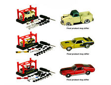 M2 Machines Model Kits AUTO-LIFT WAVE 6 ASSORTMENT 1:64 Diecast Car Set of 3