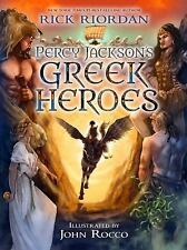PERCY JACKSON'S GREEK HEROES - RICK RIORDAN (HARDCOVER) NEW