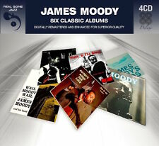 James Moody SIX (6) CLASSIC ALBUMS Hi Fi Party FLUTE 'N THE BLUES New 4 CD