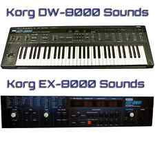 Korg DW-8000, EX-8000 Largest Sound Collection