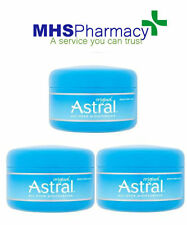 3x Astral Original Face And Body Moisturiser 50ml Moisturising Cream Moisturizer