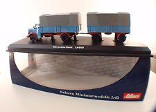 Schuco 03102 camion Pompiers Mercedes-Benz L6600 Berufsfeuerwehr Fürth 1/43