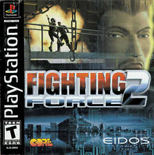 Fighting Force 2 - PS1 PS2 Playstation Game