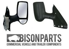 *FORD TRANSIT MK6 DOOR WING MIRROR SHORT ARM BLACK RH TRA347