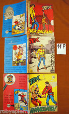 Lotto in Blocco 3 Tex Tre stelle n 41 del 1967 55 del 1968 72 del 1970 originali