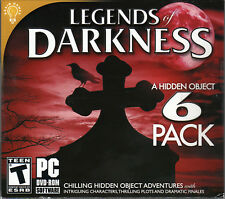 THE CROSS FORMULA Hidden Object LEGENDS OF DARKNESS 6 PACK PC Game DVD NEW