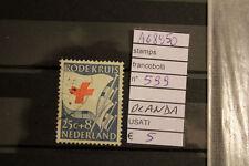 STAMPS FRANCOBOLLI OLANDA USATI N. 599 (A68950)