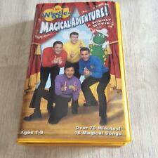 THE WIGGLES MAGICAL ADVENTURE A WIGGLY MOVIE   VHS VIDEO PAL~ A RARE FIND