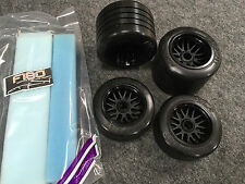 Serpent Formula F180 Soft Tires Front & Rears incl. inserts