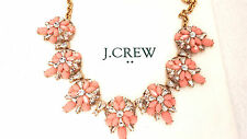 J Crew stone layers necklace NWT new statement Authent Wedding bride bridesmaid