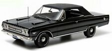 1967 Plymouth Belvedere GTX Convertible Black1:18 Scale Diecast Greenlight 19007