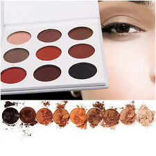9 Colors Lady Eye Shadow Makeup Cosmetic Shimmer Matte Eyeshadow Palette Set Kit