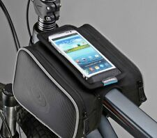 """Roswheel Bicycle Bike Front Top Tube Frame Double Bag for 5"""" Cellphone iPhone 6"""